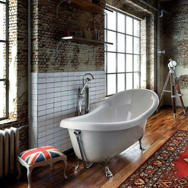 GLASS Old England - Samostojeća kada za kupanje
